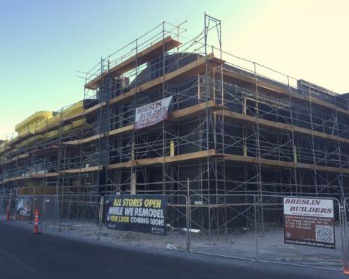 Boulevard Mall Facade Remodel Progress April 2015  - 9