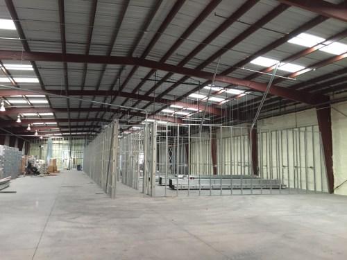 Redwood Warehouse MME Progress Photos 1-7-16 - 5