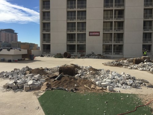 The Plaza Pool Deck Renovation - 35