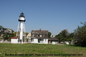 sea gate light house - sea gate brooklyn ny annette fisher