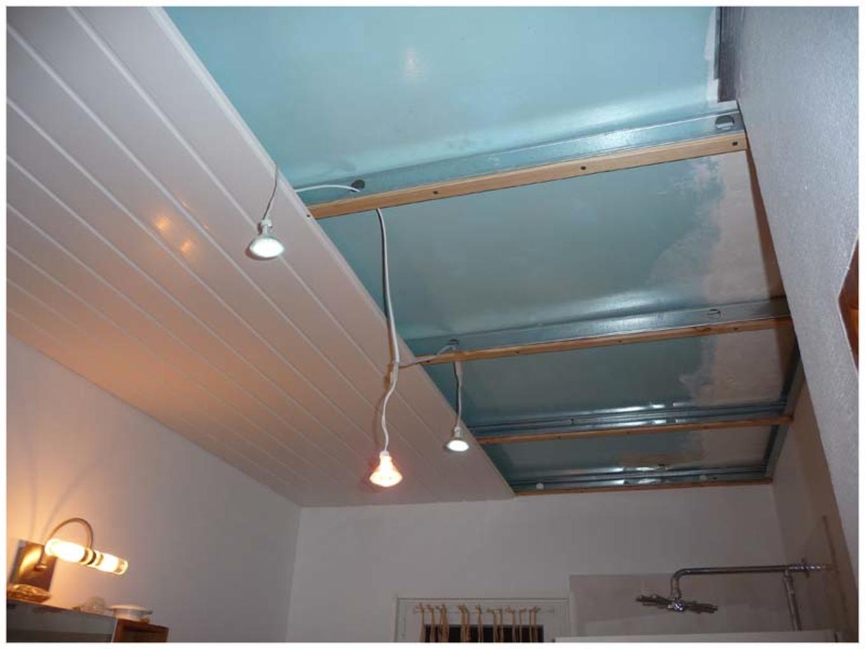 Faux Plafond Pvc Salle De Bain Novocom Top