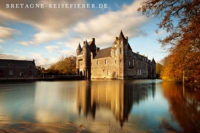 Broceliande Bretagne Chateau