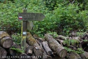 Fernwanderweg GR 34 Schild