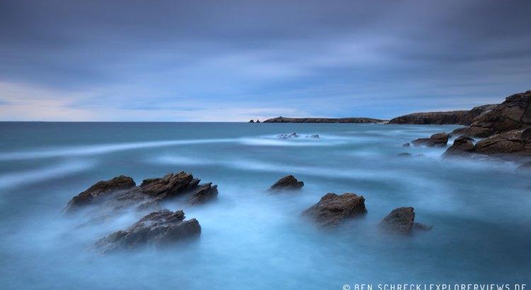 Fotografieren am Meer Quiberon