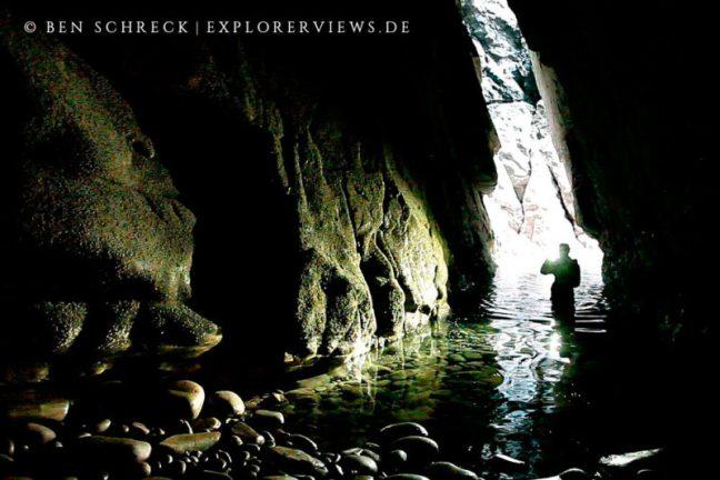 Grotten Erkunden Meeresgrotten Bretagne