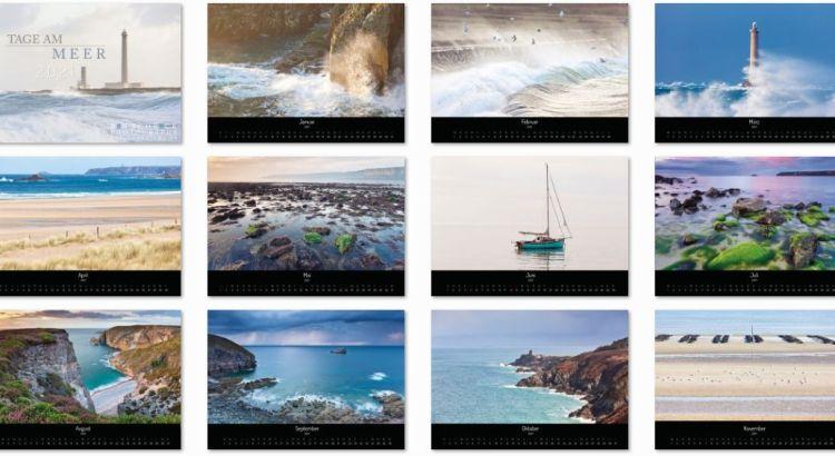 Kalender 2021 Tage am Meer
