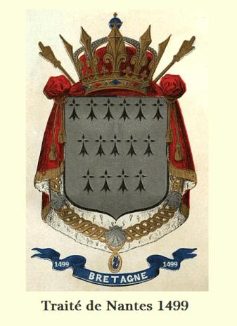 Blason Bretagne_Traité de Nantes 1499
