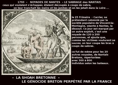 noyades de nantes_ sabrage des Nantais 1793