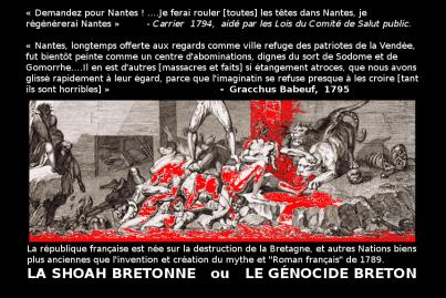 Shoah Bretonne _mythe_génocide breton