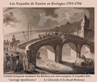 noyades Nantes Bretagne 1793