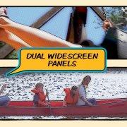 dual widescreen panels