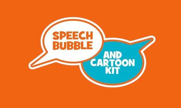 Speech Bubble & Cartoon Kit overview