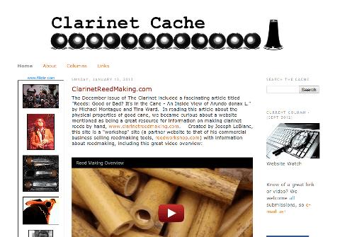 Clarinet Cache