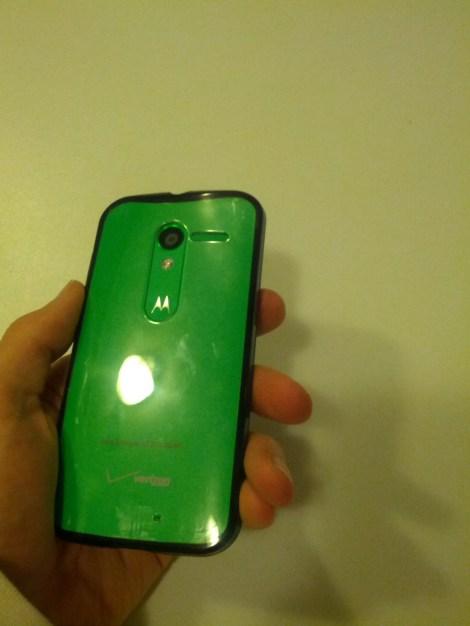 Moto X Case Glare Example