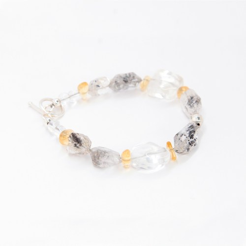 herkimer_diamond_citrine_light_gemstone-bracelet