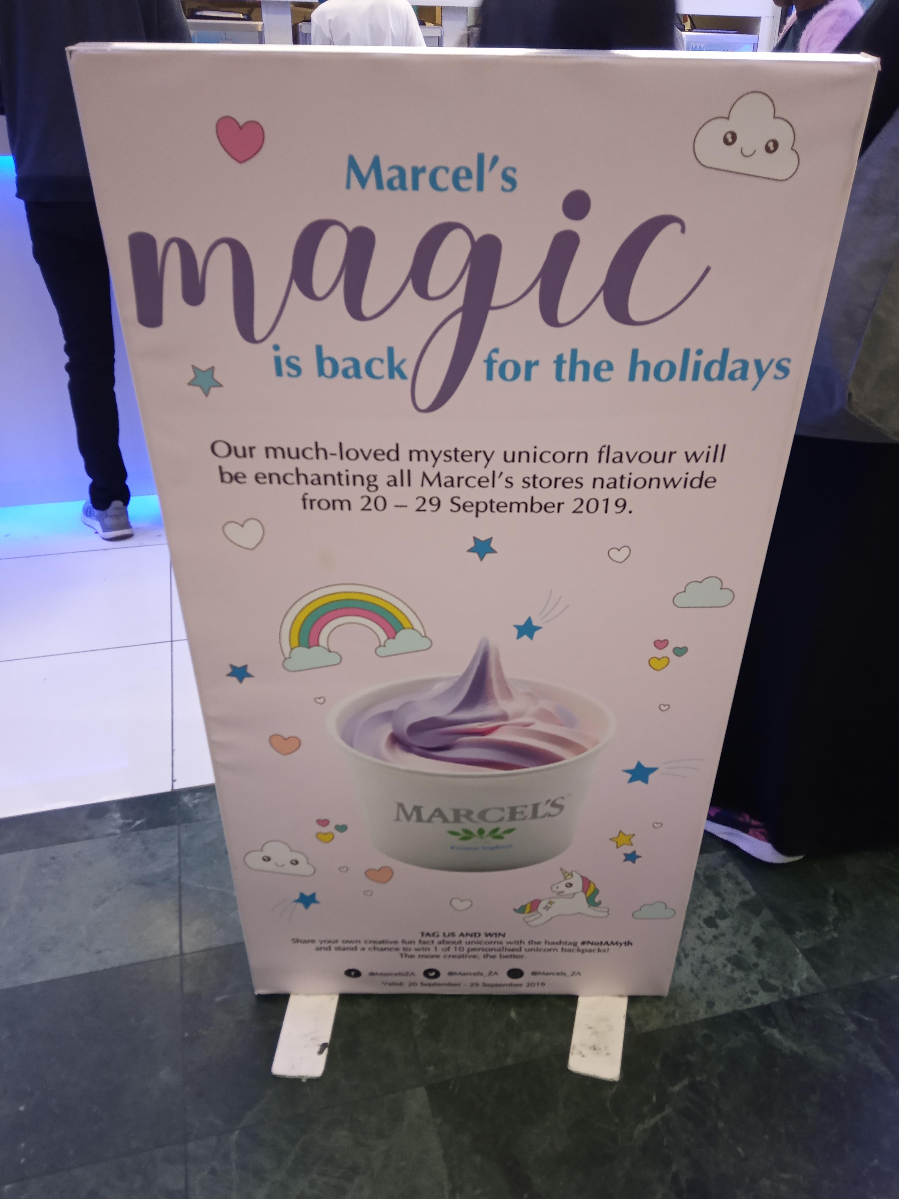 Unique Unicorn Flavour Marcel