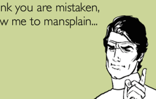 #40TipsForMen mansplaining