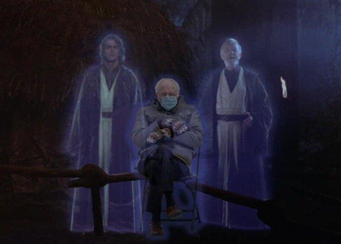 Bernie hologram