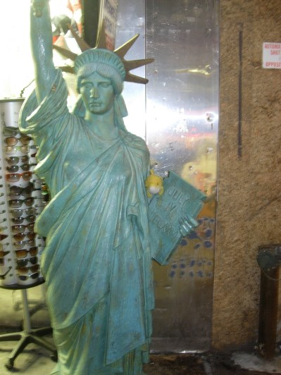 New York, smaller scale