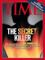 Time Magazine Cover  - Inflammation Secret Killer
