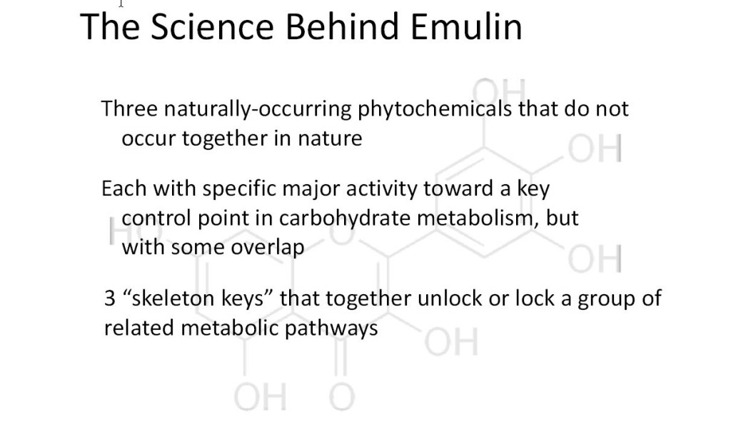 The science behind emulin