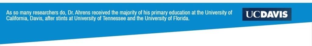 Joe Ahrens education