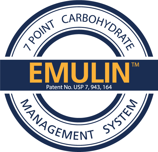 The emulin seal - 7 point carbohydrate management system