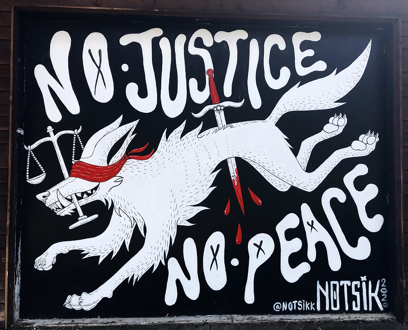 No Justice No Peace by Notsik