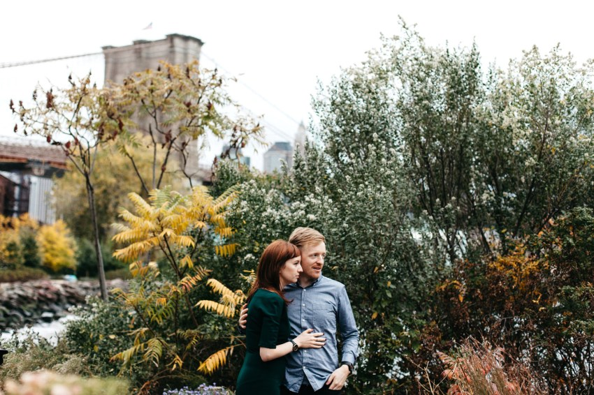Hipster Brooklyn Engagement Session