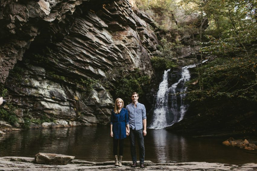 hanging rock engagement