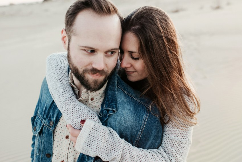 kitty hawk engagement shoot