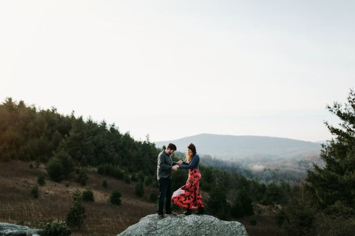 hipster asheville wedding photographer