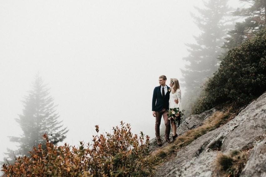 asheville nc elopement photographers