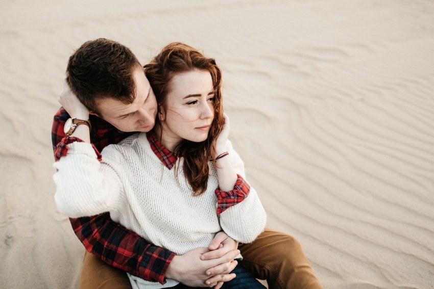sand dune engagement shoot