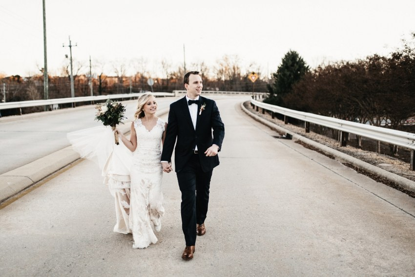 raleigh winter wedding