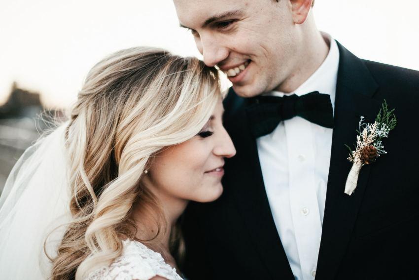 raleigh winter wedding