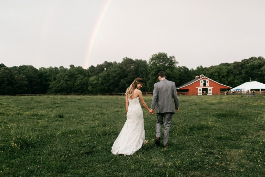 north carolina farm wedding