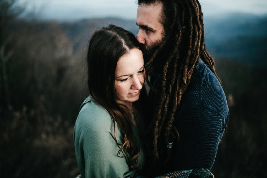 blowing rock engagement photos