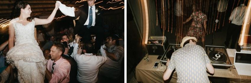 asheville hipster wedding dj