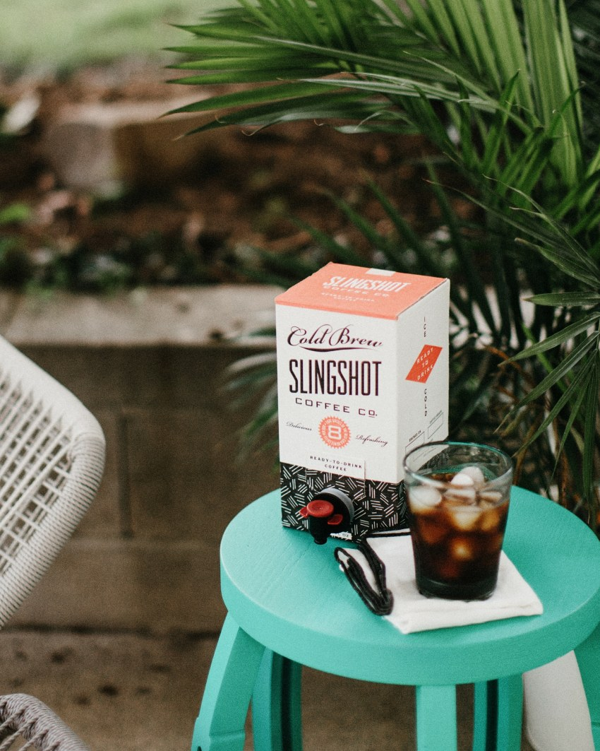 slingshot coffee co. box