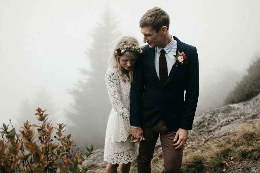 Seattle mountain elopement