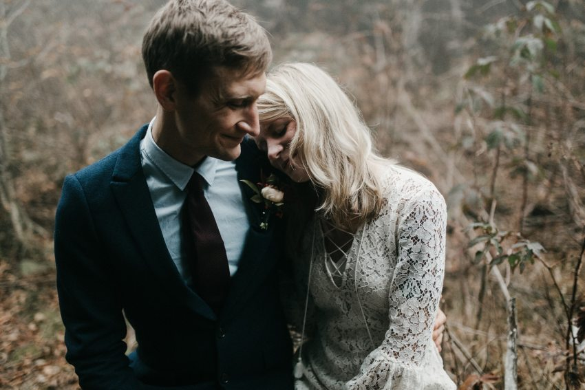 asheville mountain elopement