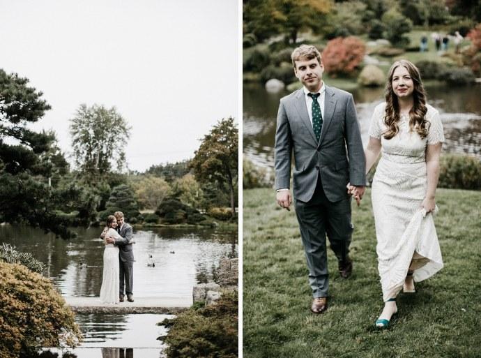asticou azalea gardens wedding