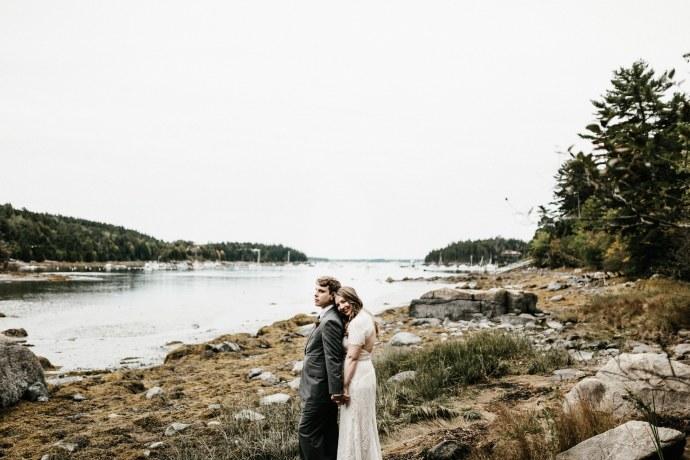 coast of Maine wedding