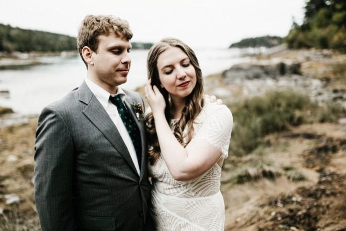 best Acadia national park wedding
