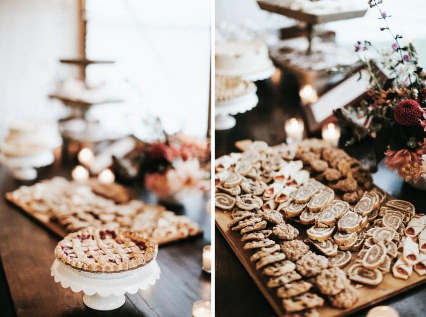 bar harbor maine wedding desserts