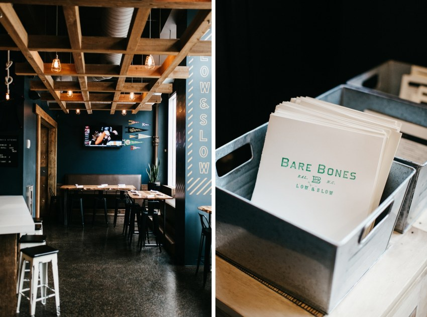 raleigh food photographer bare bones
