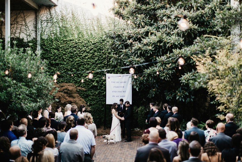 atrium by ligon Flynn wedding