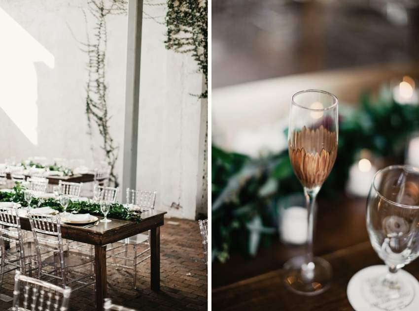 urban industrial chic wedding
