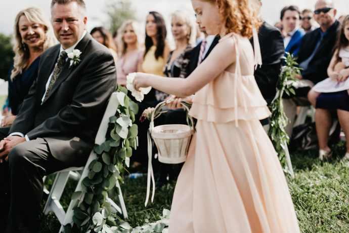 flower girl wedding